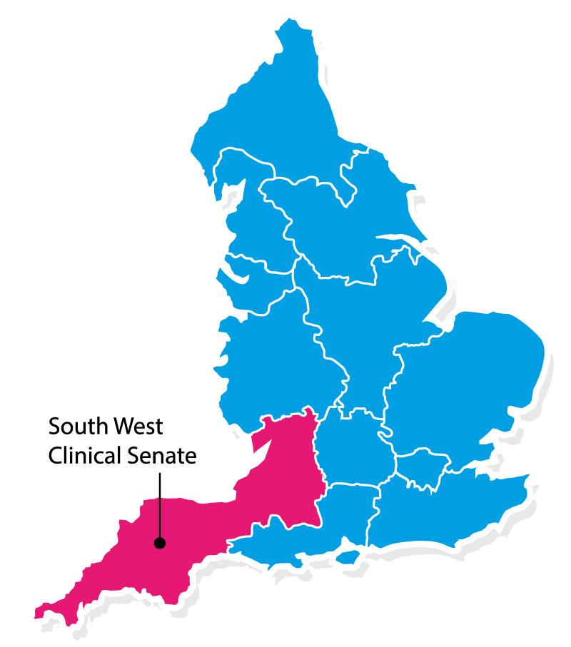 SWSenate England map